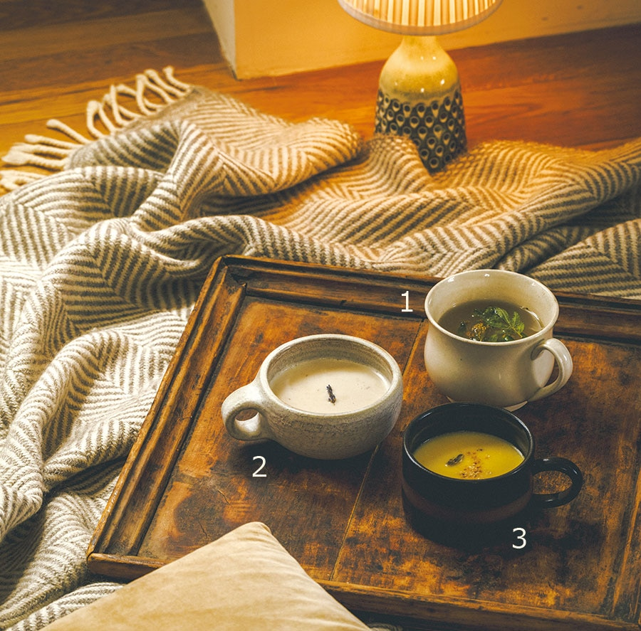 【ミード】【ラベンダーソイ】【カルダモンホワイトチョコレート】ハーブが香る、優しく温かい飲料3品が冬の夜に試したくなります。