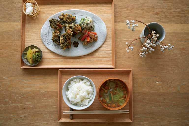 日本茶を使った定食も楽しめる日本茶専門店〈SAKUU 茶空〉について